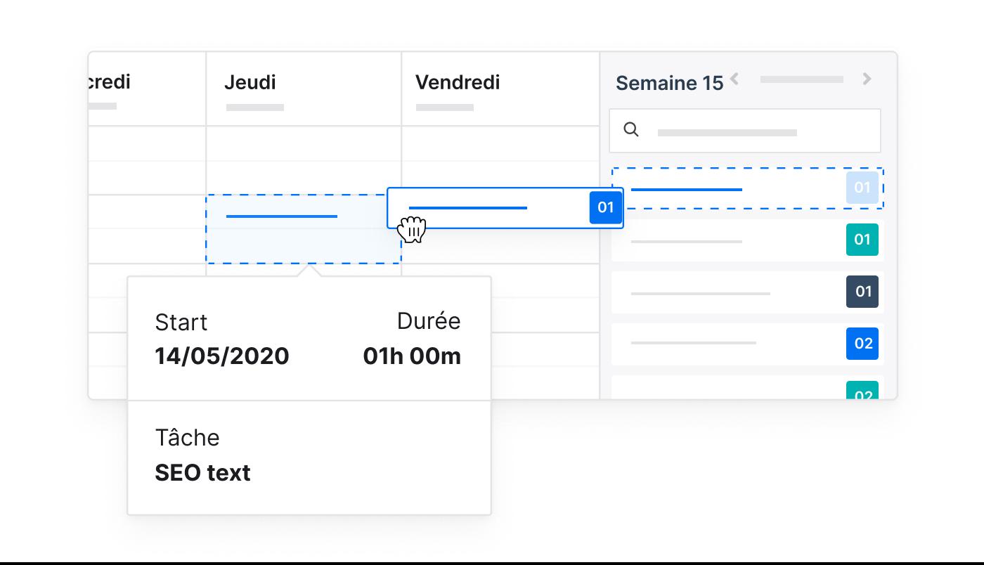 FR FR 3 1 Time Tracking Snel geregistreerd